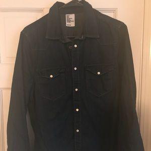 Demin shirt - dark blue